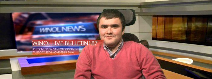 WINOL LIVE BULLETIN 187