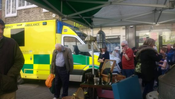 BREAKING: Woman taken to hospital following incident on Winchester high street