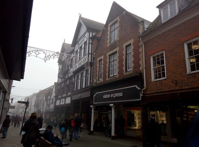 Winchester High Street by s mitch, Creative Commons